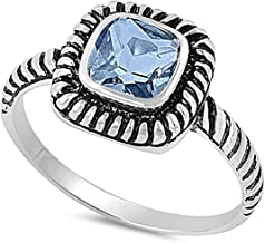 unisilver engagement ring