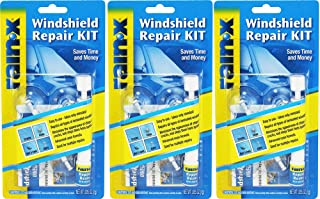 Rain-X 600001 Windshield iTbWj Repair Kit, 0.035 Oz (3 Pack)