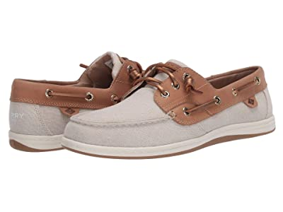 Sperry Songfish Sparkle Linen (Linen) Women