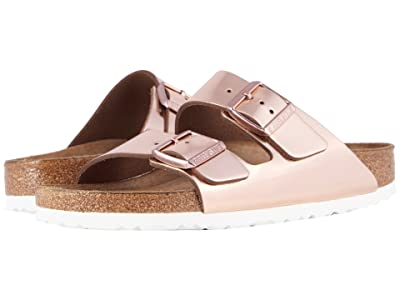 Birkenstock Arizona Soft Footbed (Copper Leather) Women