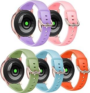 أساور استبدال PATROHOO متوافقة مع ساعة Samsung Galaxy Watch Active 2 40 مم 44 مم / أكتيف 3 41 مم / ساعة Galaxy 42 مم، سوار...