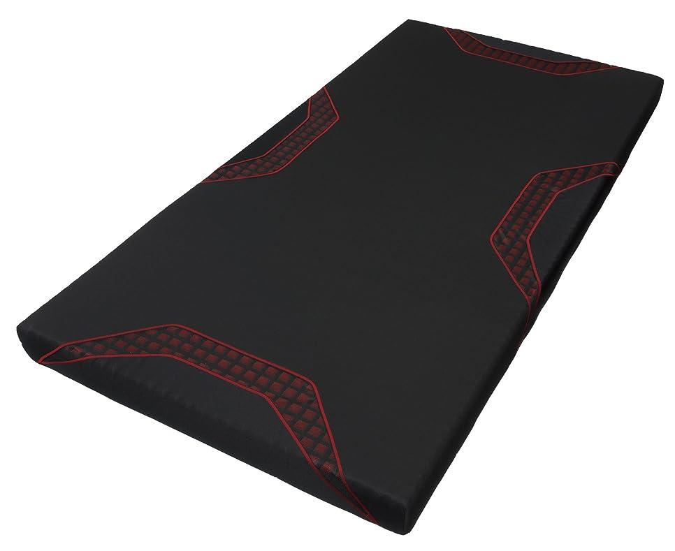 壁紙分散贅沢な東京西川 [AIR(エアー)] マットレス レッド/レギュラー シングル 高反発 厚み9cm 硬さレギュラー HWB7601000