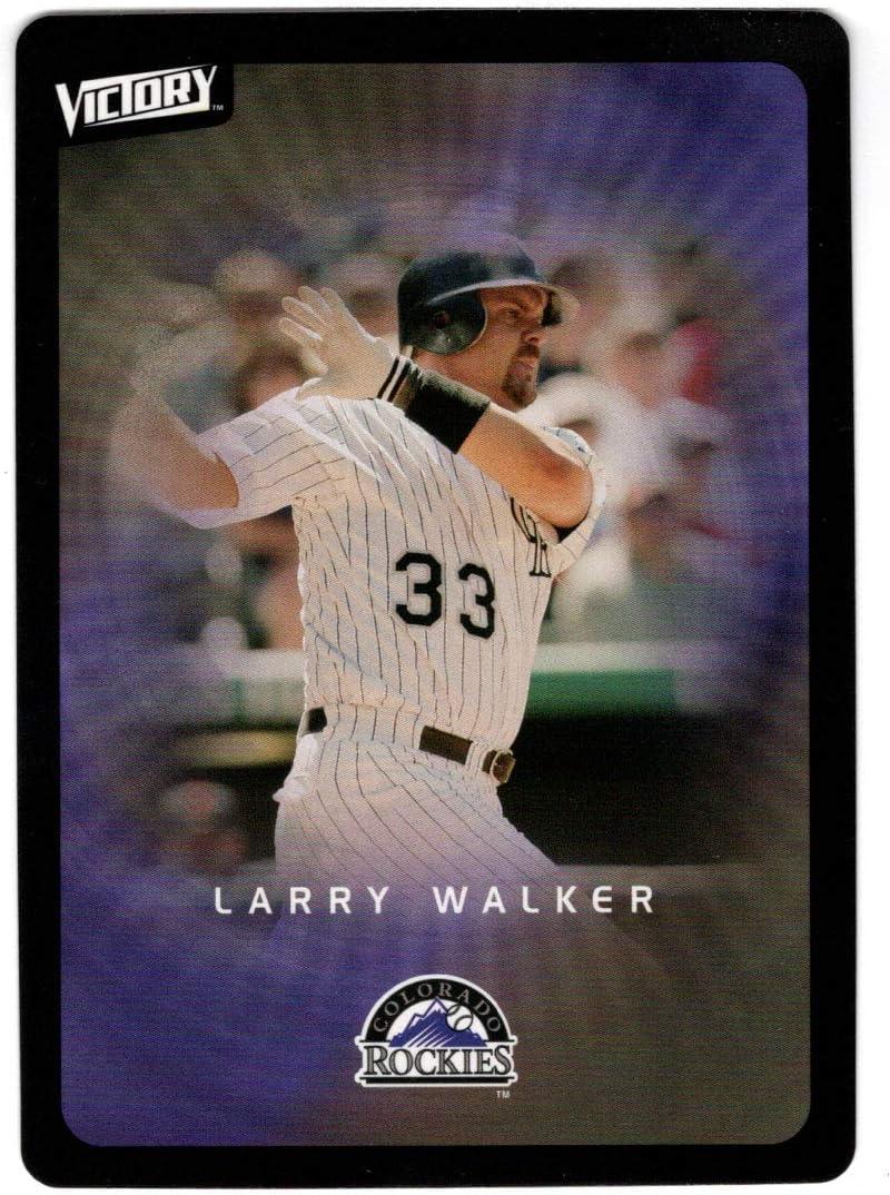 Larry Walker - Colorado Rockies Deck Baseball Ranking TOP4 Card 2003 Upper Free Shipping Cheap Bargain Gift
