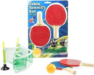 536bc4c80f1f4 Toi-Toys- Set de Ping-Pong avec Filet Jeux de Raquettes, 62035A