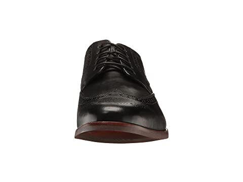negro Wingtip cuero Style Rockport Purpose q8w0WnpI