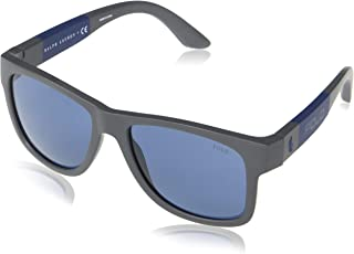 Ralph Lauren - Polo PH4162-563580-54 - hombre Gafas de sol - Matte Dark Grey