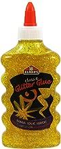 Elmer's Washable Glitter Glue, 6 oz. Bottle, Yellow (E322)