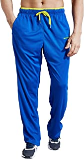 ZENGVEE Tracksuit Trousers Men Lightweight Joggers Men Elasticated Waist Athletic Sweatpants Mens Tracksuits Bottoms with ...