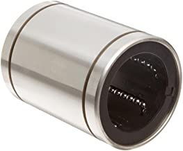 INA KBZ08 Linear Ball Bearing, Closed Type, Unsealed, Alloy Steel, Inch, 1/2