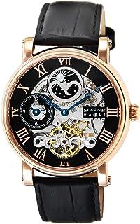 [ゾンネ]SONNE 腕時計 SONNNE×HAORI PRODUCED ブラック文字盤 自動巻 H013PG メンズ