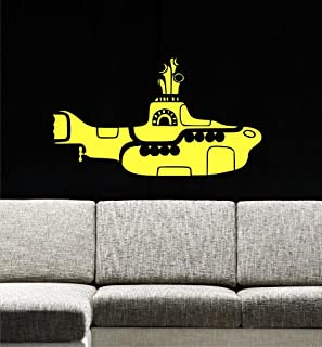 Yellow Submarine Wall Decals, 30
