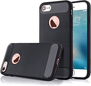 CELLBELL Rugged Armor Back Cover for iPhone 6(Midnight Black)