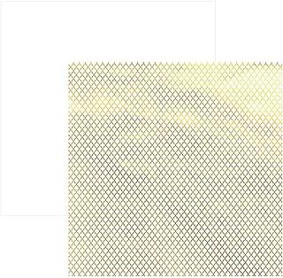 Folha para Scrapbook, Metalizada Marroquino, Toke e Crie, SDF616, 1 Unidade