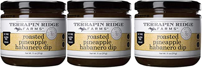 product image for Terrapin Ridge Farms Dip, Roasted Pineapple and Habanero, 12 Ounce, Pack of 3 (Roasted Pineapple and Habanero, 12 OZ (Pack of 3))
