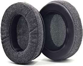 Defean Upgrade Ear Pads Replacement Gray Flannel Memory Foam Softer Foam Compatible with Audio-Technica M20 M20X M25 SX1 M...