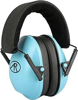 OBEST イヤーマフ 防音 NRR26dB プロテクター ヘッドバンド式 フリーサイズ 子供用 聴覚過敏 騒音対策 射撃 (青)