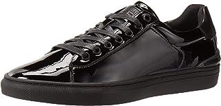 حذاء رياضي Steve Madden Tucker للرجال, (اسود باتنت), 45 EU