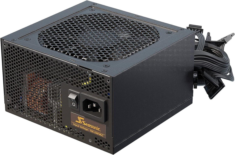 Seasonic Fuente de alimentación para PC B12 BC-850 80 Plus Bronze ATX 12 V, 850 W, Alta eficiencia, refrigeración óptima, bajo Consumo y silenciosa