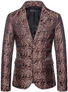 Men Plus-Size 2 Button Outerwear Nightclub Blazer Business