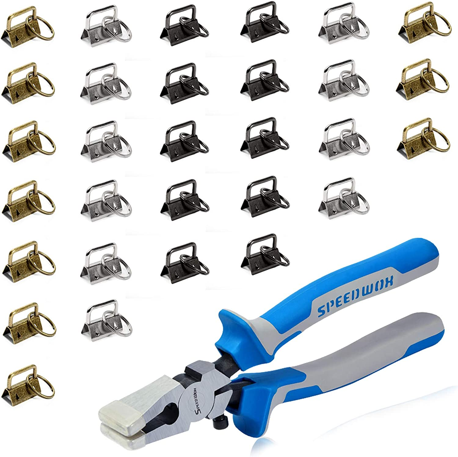 SPEEDWOX Key Fob Pliers for Max 53% OFF Super Special SALE held 30 1 Keyc Hardware Sets Inch