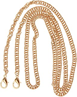 Baoblaze Vintage Purse Chain Strap Replacement with Lobster Clasp Bag Supplies 120cm