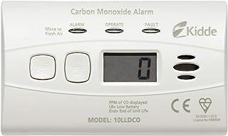 Kidde 10LLDCO koolmonoxidealarm digitaal display met verzegelde batterij, standaard alarm