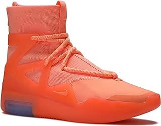 Nike Mens Air Fear of God 1 Orange Pulse Synthetic