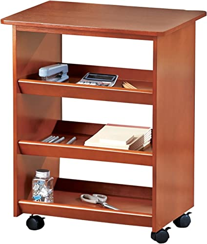 high quality Rolling outlet sale Wooden Multipurpose online Cart outlet sale