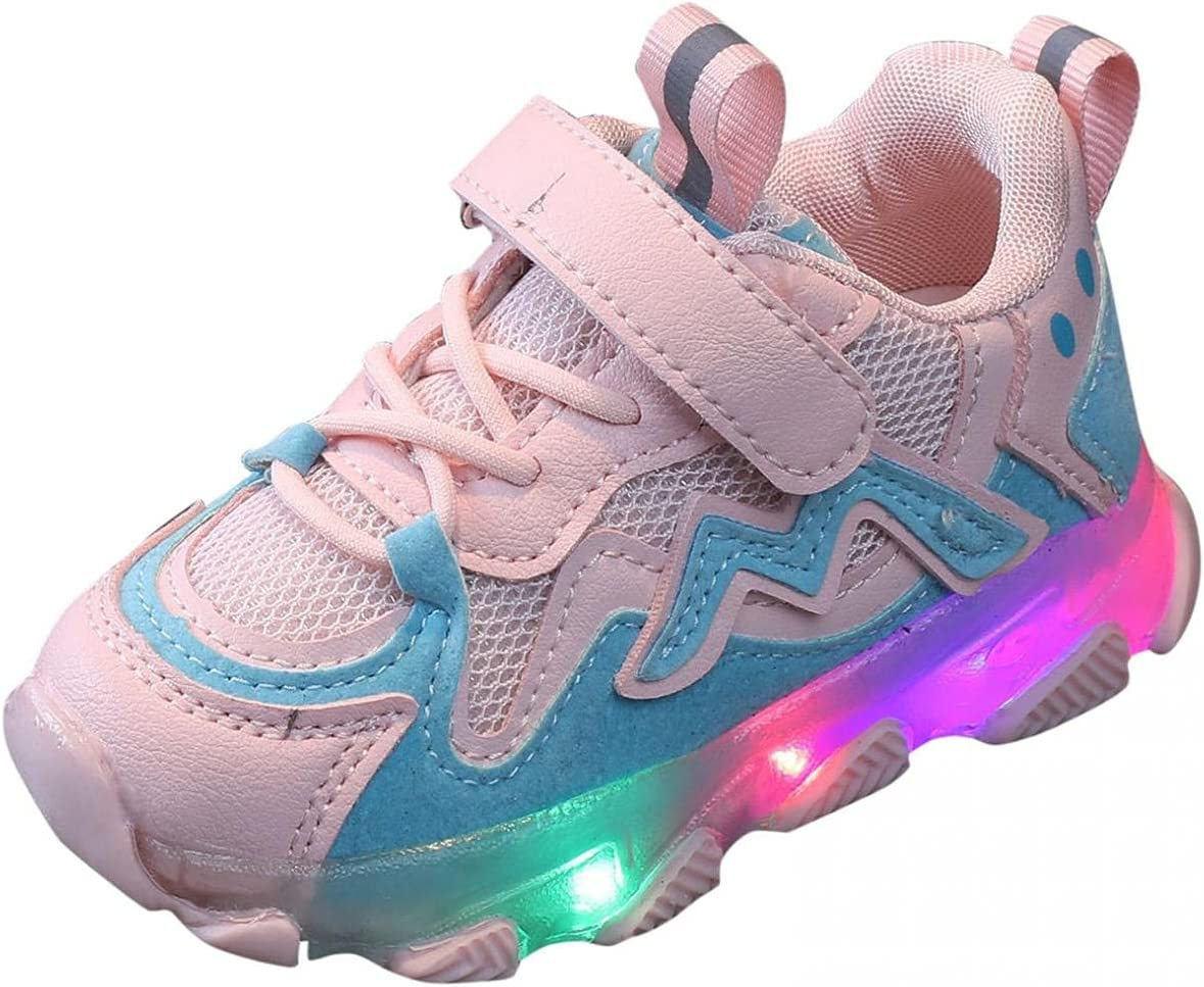 Baby Boys Fashion Girls Trainers Led Shoes Sport Luminous Running All items in the store Light