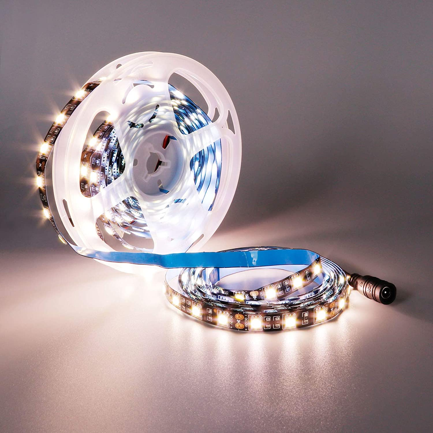 YUNBO LED Strip Light Natural New product!! White 16.4ft 5M 300 Un 4000-4500K free
