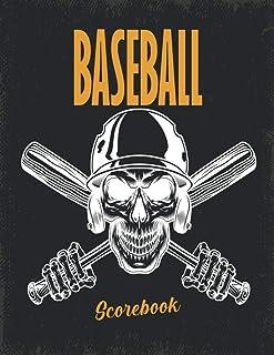 Baseball Scorebook: 100 Pages Baseball Score Sheet, Baseball Scorekeeper Book, Baseball Scorecard / Size: 8.5 x11 inches
