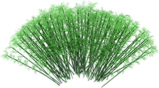 WINOMO Model Trees Miniature Landscape Bamboo Trees Scale 1:75, Pack of 100 (Green)