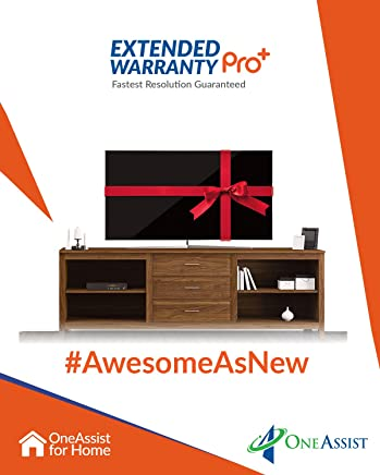 OneAssist 2 Years Extended Warranty for TVs Between Rs. 5,000 to Rs. 20,000