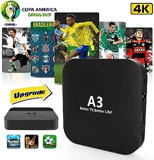 2019 Brazil Box A2 A3 Better Than IPTV 6 IPTV 8 HTV2 Mais Caixinha Brasileiro Com Mais De 200+ Popular 4K Canais Brasileiro IPTV Brazil