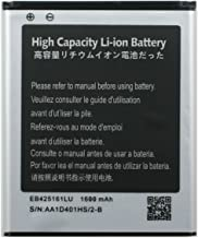 Battery EB425161LU For Samsung I8190 I8160 SGH-T599 / Samsung Galaxy S3 Mini GT-I8190 / Samsung Galaxy S III Mini GT-I8190 / Samsung Galaxy Ace 2 GT-I8160 / Samsung Galaxy Exhibit SGH-T599 / Samsung Galaxy Exhibit SGH-T599N 1600 mAh