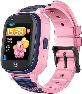 Latest Kids Smart Watch 4G Smart Watch for Kids-Children GPS Tracker Kids Monitoring Voice Video Chat SOS Alarm Fitness Tr...