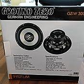 Ground Zero Gziw 300x 30 Cm Subwoofer 350 Wrms Elektronik