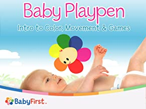 Baby Playpen Intro to Color Movement And Games Series
