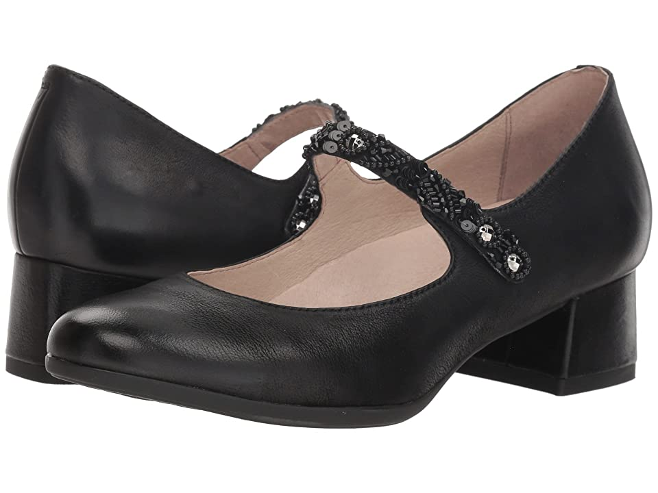 Dansko Pearlina (Black Burnished Nubuck) Women