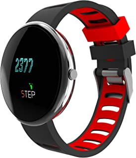Fitness Tracker Activity Tracker with Heart Rate Monitor, Blood Pressure Wristband Sleep Monitor Call Reminder Waterproof Smart Watch for iOS Android …