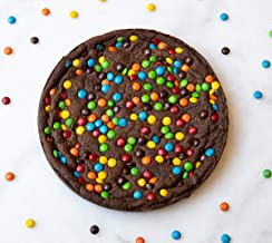 Great American Cookies - DEEP DISH BROWNIE with M&Ms, 4 to 6 Servings, Baked Daily, Hand Scooped and Never Frozen - Great ...
