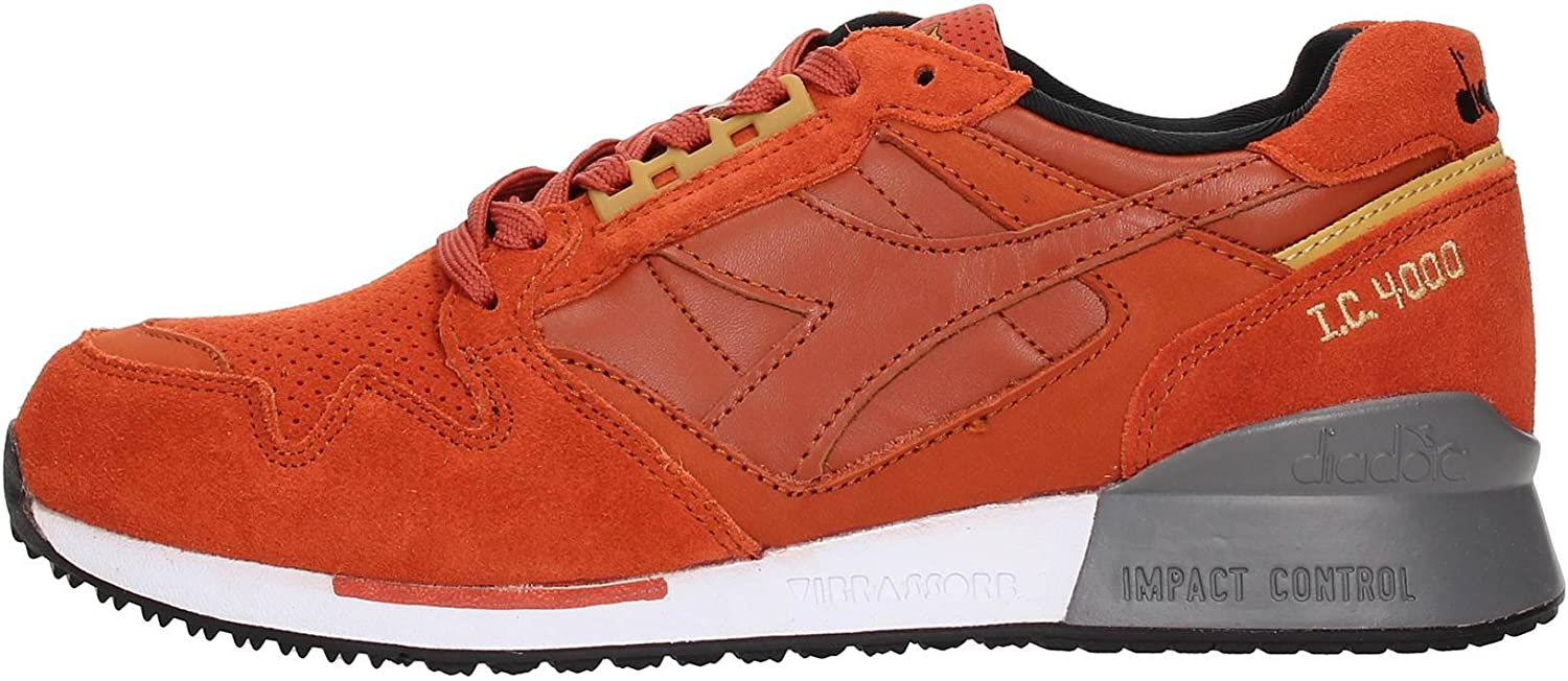 Diadora 501.170945 Sneakers Men Split Leather orange 41