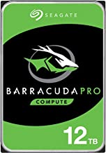 Seagate Barracuda Pro 12TB Internal Hard Drive Performance HDD – 3.5 Inch SATA 6 Gb/s 7200 RPM 256MB Cache for Computer De...
