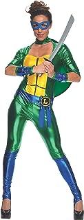 Rubie's Women's Secret Wishes Teenage Mutant Ninja Turtles Leonardo Costume Jumpsuit