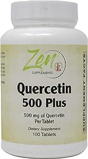 Quercetin Plus 500mg - Quercetin with Bromelain, Vitamin C, Turmeric for Antioxidant & Inflammation Support, Immune Suppor...