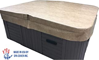 """BeyondNice Basic Hot Tub Cover, Custom Made 4"""" Thick Insulating Replacement Spa Cover - World`s Only Design Your Own Ordering Wizard Insures Every Cover is Made Perfectly for Every Customer!"""