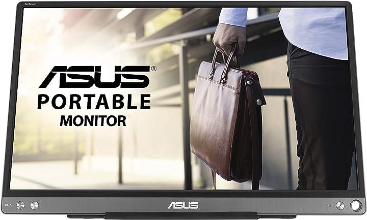 Monitor pc asus zenscreen mb16ace monitor portatile usb type-c da 15.6