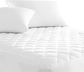 Australian Made Fully Fitted Cotton Quilted Mattress Protector Machine Washable (All Size) (Queen)