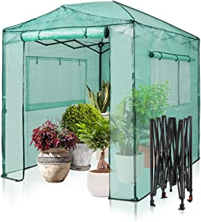 DENNY Tomato Greenhouse Reinforced Frame /& Cover Outdoor Garden Plant Grow Green House By Crystals/®