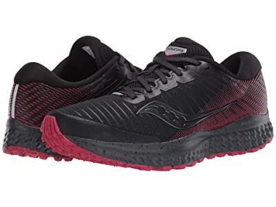 Saucony Guide 13 TR (Black/Barberry) Women